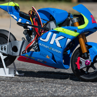 Small 2016 Suzuki GSX-RR 1:8 Racing RC MotoGP Version2 3D Printing 153292