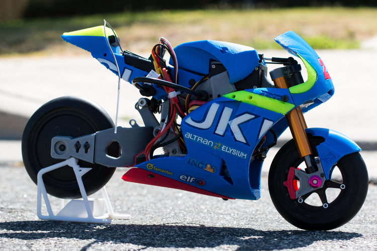 2016 Suzuki GSX-RR 1:8 Racing RC MotoGP Version2 3D Print 153297