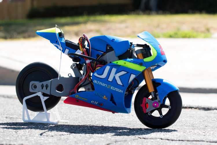 2016 Suzuki GSX-RR 1:8 Racing RC MotoGP Version2 3D Print 153298