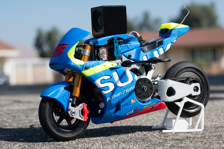 2016 Suzuki GSX-RR 1:8 Racing RC MotoGP Version2 3D Print 153299