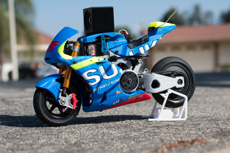 2016 Suzuki GSX-RR 1:8 Racing RC MotoGP Version2 3D Print 153300