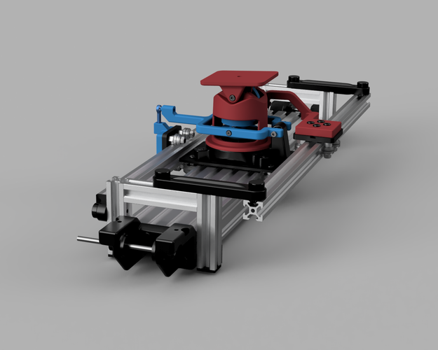 Fully Mechanical Pan Tilt Slider 3D Print 153302