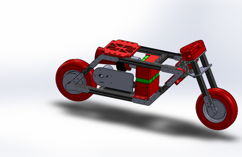 Electric Pocket Bike 3D Print 153318