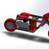 Small Electric Pocket Bike 3D Printing 153318