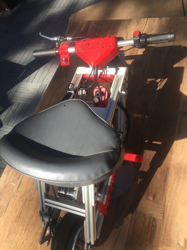 Electric Pocket Bike 3D Print 153333