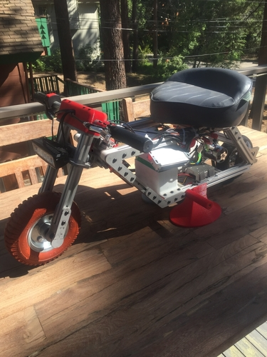 Electric Pocket Bike 3D Print 153348