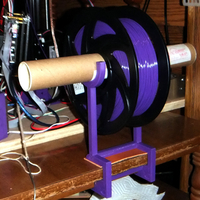 Small YAFSH - Yet Another Filament Spool Holder 3D Printing 153527