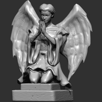 Small Angel Sculpture 3D Printing 15363