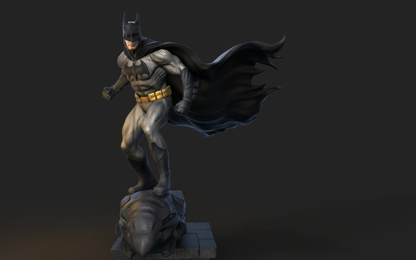 Medium batman design 3D Printing 153663
