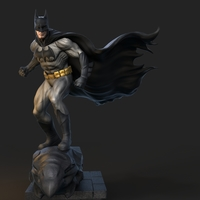 Small batman design 3D Printing 153663