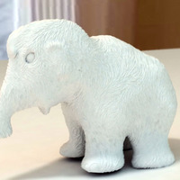 Small Mammoth 3D Printing 15369