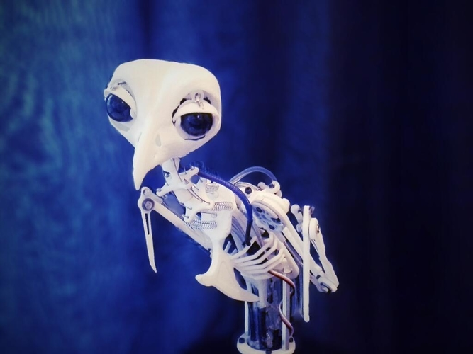 Animatronic Bird Armature (head sold separatly) 3D Print 153820