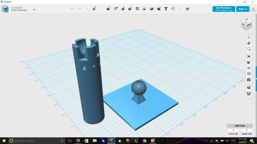 bottle rocket holder and morter 3D Print 153824