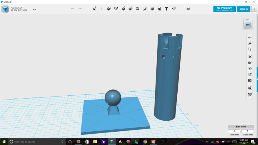 bottle rocket holder and morter 3D Print 153827