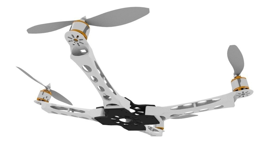 IX400 Quadcopter Body arms only 3D Print 153838