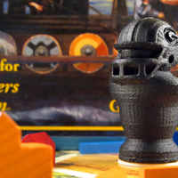 Small Green Bay Packers Catan Robber 3D Printing 15387