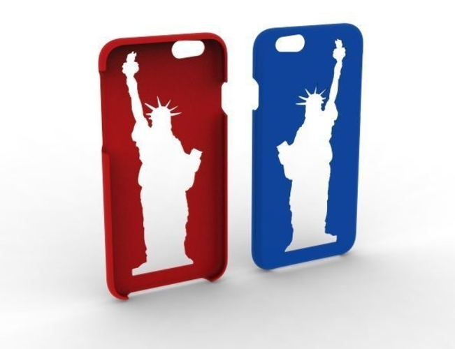 iPhone 6 / 6s  Statue of Liberty Phone Case 3D Print 153873