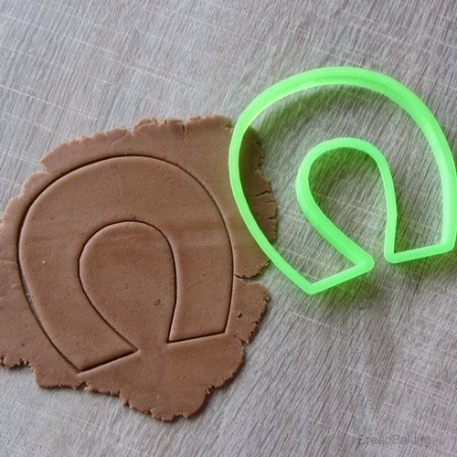 Horseshoe cookie cutter for professional  3D Print 153937