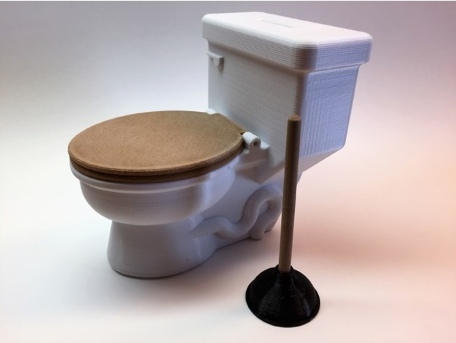 POTTY BANK 3D Print 153985
