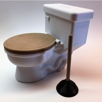 Small POTTY BANK 3D Printing 153985