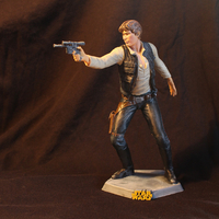 Small han solo 3D Printing 154100
