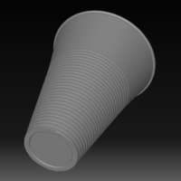 Small Plastic Cup 3D Printing 154111