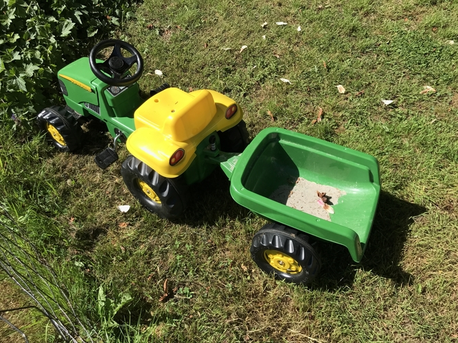 Split for toy tractor and wagon 3D Print 154189