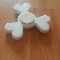 Small Heart fitget spinner.  3D Printing 154314