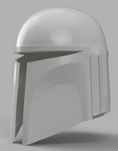 Death Watch Mandalorian Helmet Star Wars 3D Print 154322