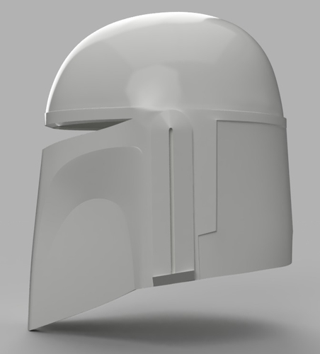 Death Watch Mandalorian Helmet Star Wars 3D Print 154323