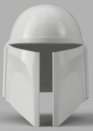 Death Watch Mandalorian Helmet Star Wars 3D Print 154324