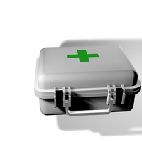 Small Medical Kit 3D 3D Printing 154344