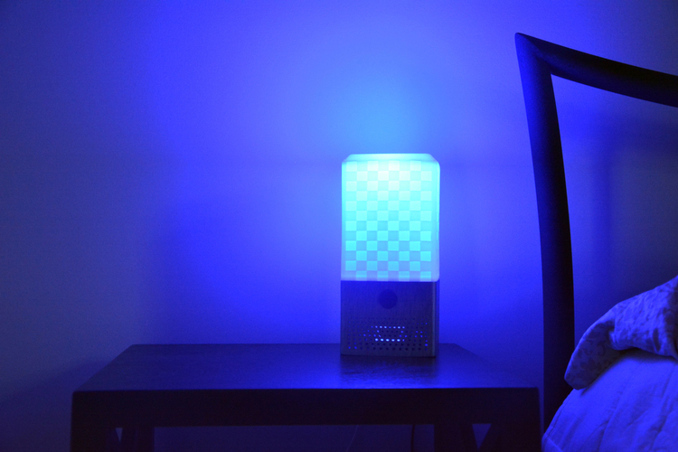 Smart Assistant Speaker and Lamp (Google Assistant or Amazon Ale 3D Print 154471