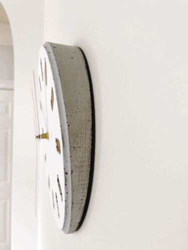 DIY Concrete Clock (3D printed mold) 3D Print 154481