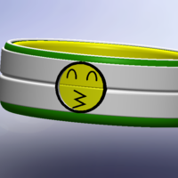 Small Totemoji bracelet version 2 3D Printing 154511