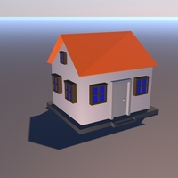 Small House 3D 3D Printing 154623