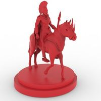 Small Spartan Warrior 3D Printing 15464