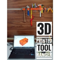 Small 3D printed tool hanger 3D Printing 154689