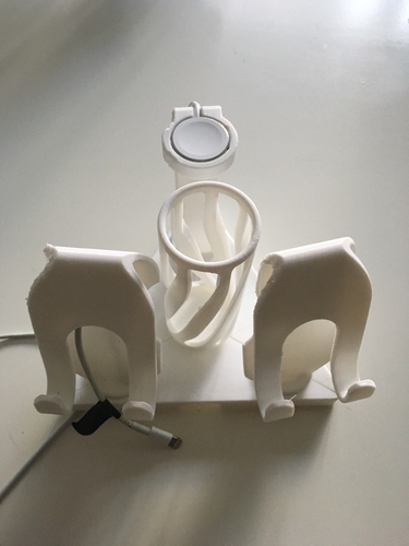 Mix and Match Mobile Phone and Watch Charger Stands 3D Print 154704