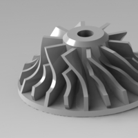 Small Impeller 3D Printing 154707