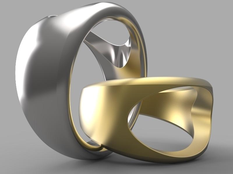 3D Printed Simple ring design by vmladin | Pinshape