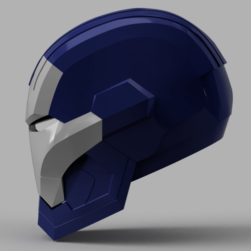 Iron Patriot Helmet (Iron Man) 3D Print 154831