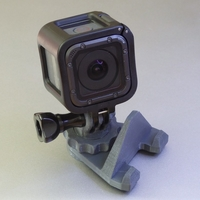 Small GoPro Hero Session Mount for Ultimaker 3D Printing 154903