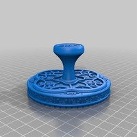 Small Year of The Snake Stamp 3D Printing 15492