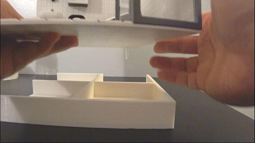 Miniature Water storage & drawer  (bathroom) 3D Print 154947
