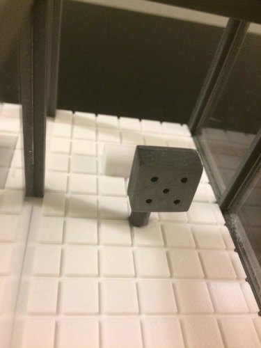 Miniature Shower Booth   (bathroom) 3D Print 154953