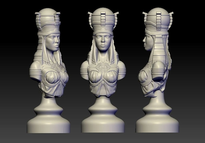 Rook of Egypt 3D Print 155043