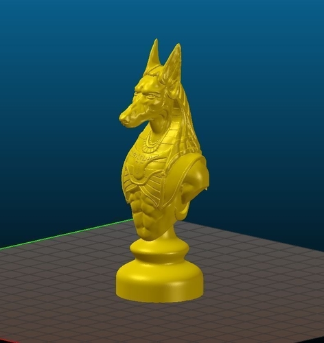 Knight of Egypt 3D Print 155052