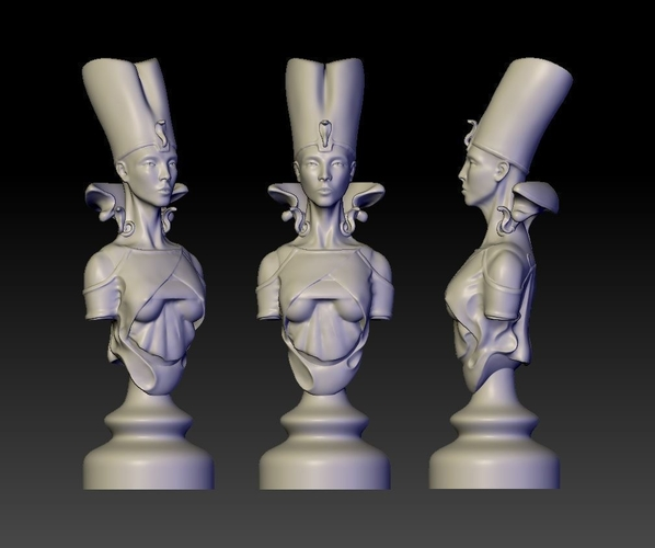 Princess of Egypt 3D Print 155062
