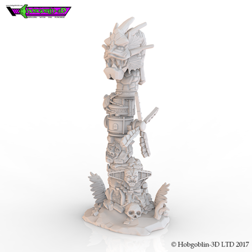 HG3D Totem of Six - 28mm  3D Print 155311